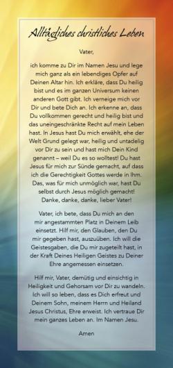 4 Gebetskarten - Set 1