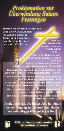 4 Proklamationskarten: Gottes Kraft im Alltag freisetzen
